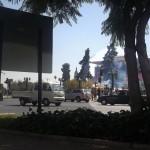 tear gas bomb
