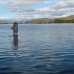 me in glacial lake